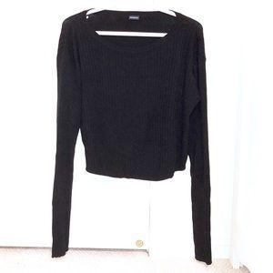 💙 2/30 Brandy Melville Black Ribbed Long Sleeve